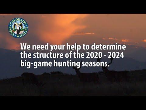 CPW Seeks Feedback From Colorado Big-Game Hunters