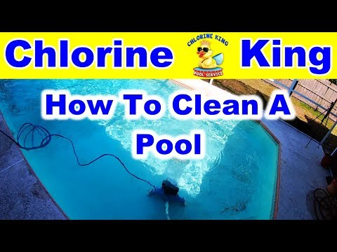 How To Clean A Swimming Pool - Chlorine King Pool Service