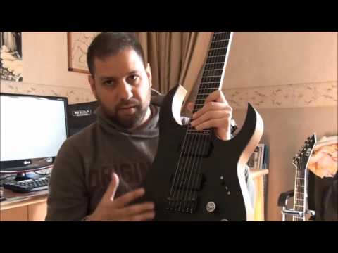 Amorite Guitars review by Rawad A. Massih of The Hourglass (Syria)