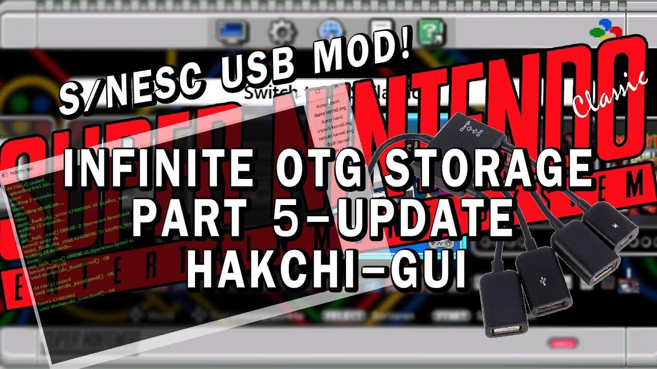 SNES Classic USB mod   Part 5 - Updating hakchi-gui   Replacing splash  screen