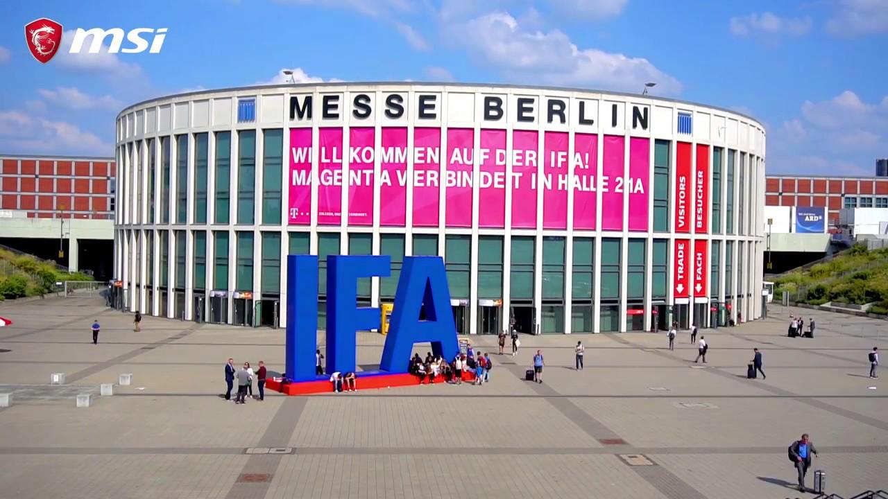 MSI auf der IFA 2018 Berlin