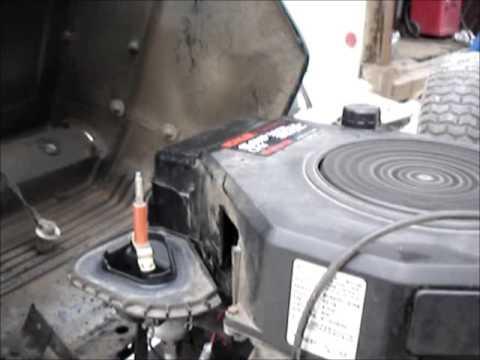 John Deere Lawn Tractor Wiring Kohler Command 15hp Running Youtube