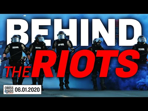 Is CCP Involved In The George Floyd Riots? Terror Designation May Go Beyond The Riots | Crossroads