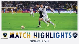 HIGHLIGHTS: LA Galaxy vs. Sporting Kansas City | September 15, 2019