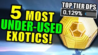 The 5 most UNDER-USED Exotic Weapons for PvE! | Beyond Light