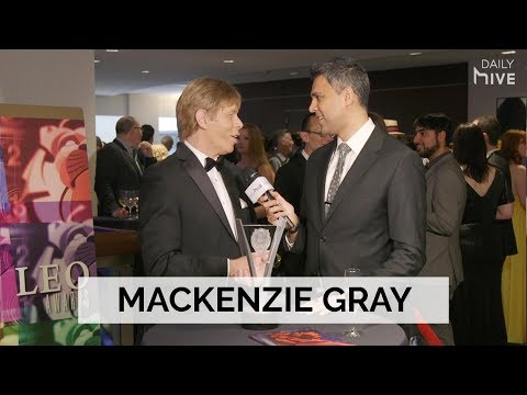 Mackenzie Gray insulted a rude director while holding an axe