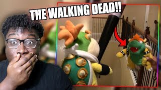 BOWSER JR. FIGHTS OFF THE ZOMBIE APOCALYPSE! | SML Short: Zombie Bowser Reaction!