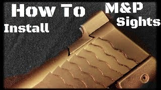 How to Replace The Sights On A Smith & Wesson M&P Pistol (HD)
