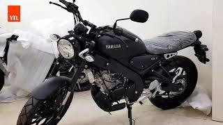 NEW YAMAHA XSR 155 (BLACK ) HD VIDEO 2020