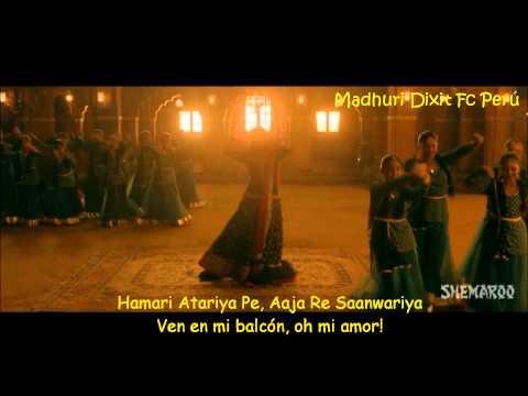 Hamari Atariya Pe (En mi Balcón) - Dedh Ishqiya (Sub. español)   Madhuri Dixit