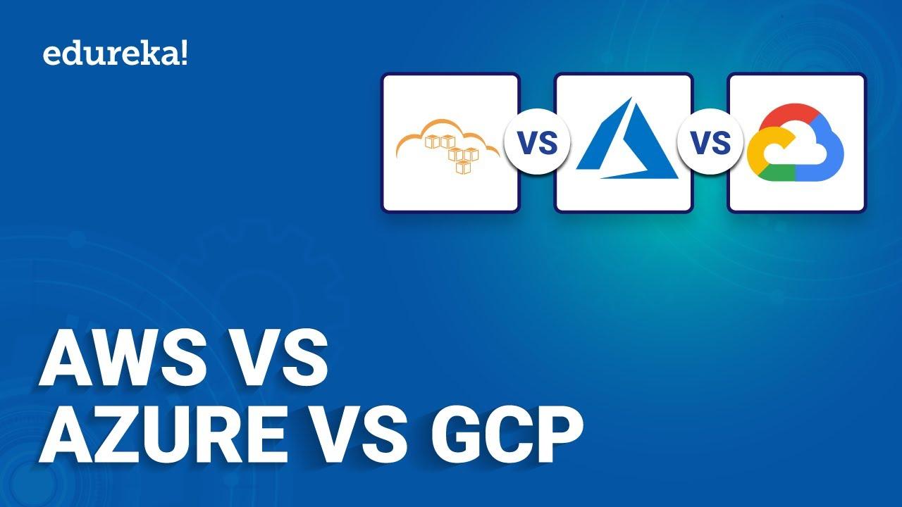AWS vs Azure vs GCP | Amazon Web Services vs Microsoft Azure vs Google Cloud Platform