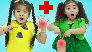 Gambar cover The Boo Boo Song | Suri & Annie Pretend Play Nursery Rhymes & Kids Songs
