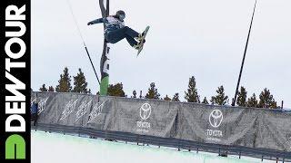 Kelly Clark, Snowboard Superpipe Final: Winning Run, 2014 Dew Tour Mountain Championships