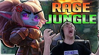 HYBRID LETHAL JUNGLE POPPY!? WTF IS THIS DAMAGE??? JUNGLE POPPY SEASON 8 GAMEPLAY