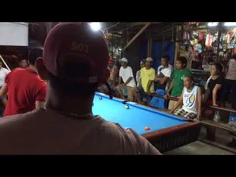 Hushley jusayan VS teteng marilao money game 10balls