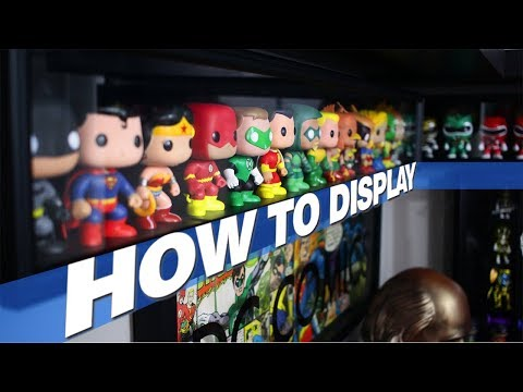 HOW TO DISPLAY YOUR COLLECTION  Funko POPs Figures Statues