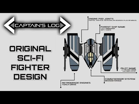 Designing The Perfect Sci-Fi Space Fighter