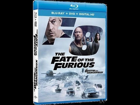 passion blu ray dvd fast and furious 8 chronique youtube. Black Bedroom Furniture Sets. Home Design Ideas