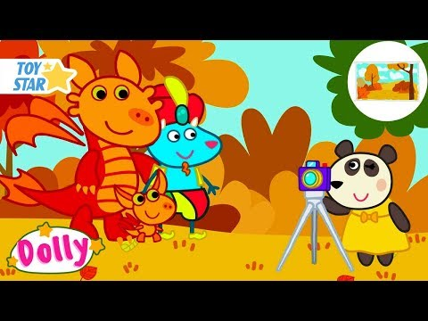 Dolly And Friends | a Group Photo | Season 3 | 3 New Episodes | Funny Cartoon For Kids #281 Full HD