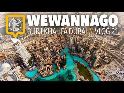 Burj Khalifa Dubai: 148th Floor // At The Top - Sky Experience  // WeWannaGo Travel Videos