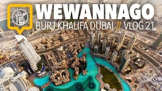 Burj Khalifa Dubai: 148th Floor // At The Top - Sky Experience  // WeWannaGo Travel Videos