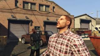 GTA 5 movie THE DRUG STEALER (machinima)