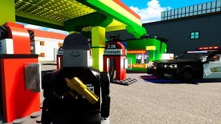 Doing Crime Jobs in Lego City? - Brick Rigs Gameplay Roleplay