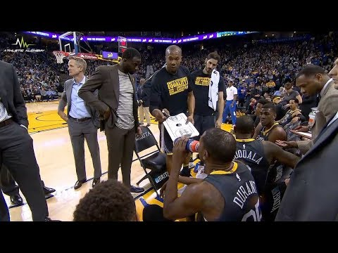 Warriors players coach themselves!
