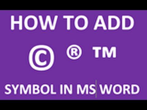 How To Make A Trademark Symbol Romeondinez