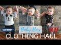 BABY BOY TRENDY WINTER CLOTHING HAUL | H&M, OshKosh, Old Navy & More!