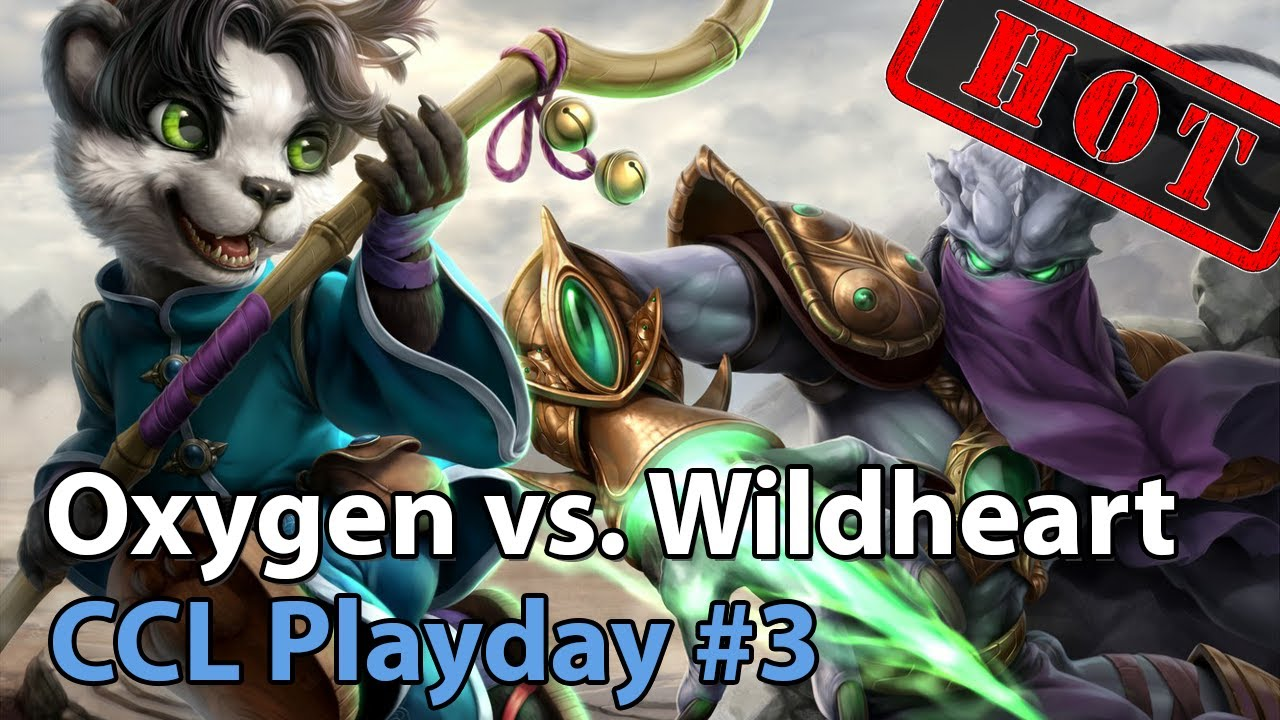 CCL: Wildheart vs. Oxygen - Heroes of the Storm 2020