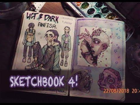 Sketchbook tour #4