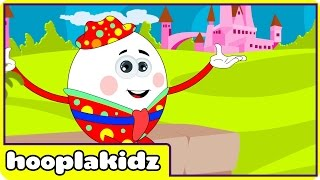 Humpty Dumpty Sat On A Wall | Nursery Rhymes Collection For Kids by Hooplakidz