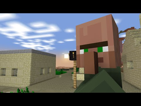 Minecraft Animation: A Day In A Villagers Life (1/3)
