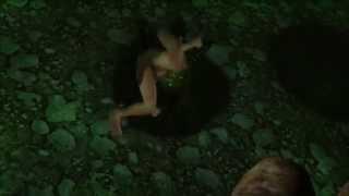 Dark Souls 2: Ryona/Vore Vs Parasite Worm