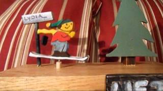 Automata Mechanical Wood Toy