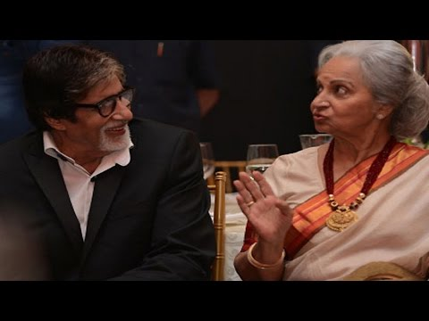 Amitabh Bachchan: Waheeda Rehman, My Favourite From The Beginning
