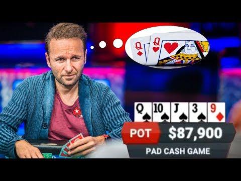 Can Daniel Negreanu READ MINDS? Ridiculous Poker Hand