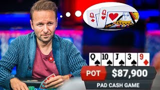 Can Daniel Negreanu READ MINDS? Ridiculous Poker Hand