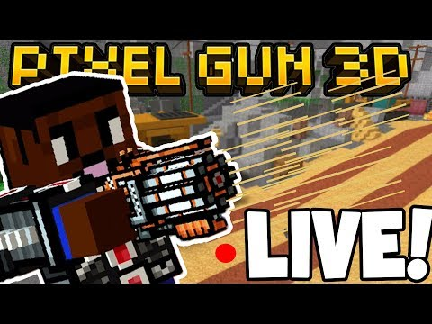 LIVE! - PIXEL GUN 3D w/Subscribers! - COME JOIN ME!