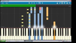 Dia - Sammy    Piano Tutorial  Synthesia   OST Love in Paris