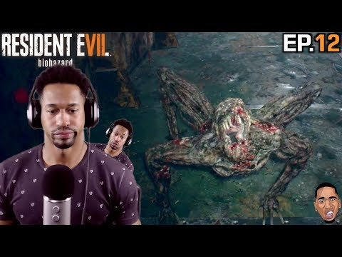 THESE UGLY AHHH MONSTERS! Resident Evil 7  Biohazard Gameplay ep.12