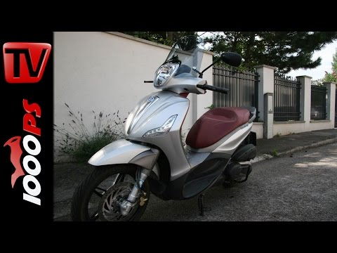 2015 | Piaggio Beverly 350 Sport Touring Test | 300er Roller Testserie