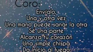 """~Send it On Traducción en Español - Disney Stars para """"Friends for Change""""~"""