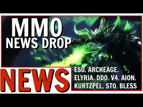 MMO News Drop: ESO, ArcheAge, Elyria, V4, DDO, Fallen Earth, Bless and More