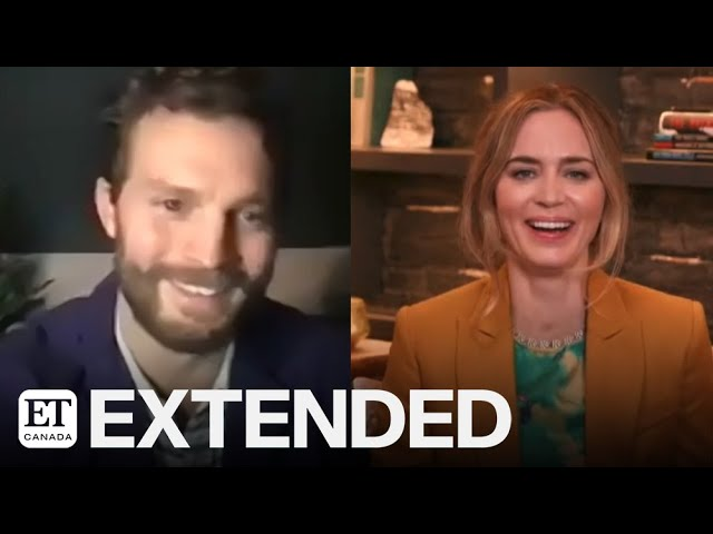 Jamie Dornan, Emily Blunt On Their Romantic Drama \'Wild Mountain Thyme\' | EXTENDED