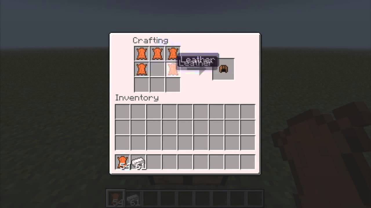 Make A Saddle In Minecraft