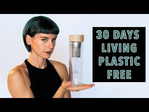 I TRIED LIVING PLASTIC FREE FOR 30 DAYS! | Sorelle Amore