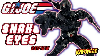 G.I. JOE CLASSIFIED SNAKE EYES REVIEW