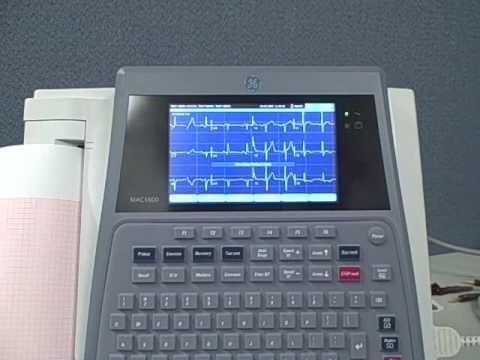 cardiology shop mac 1600 ekg machine youtube rh youtube com GE Medical ge mac 1600 user manual